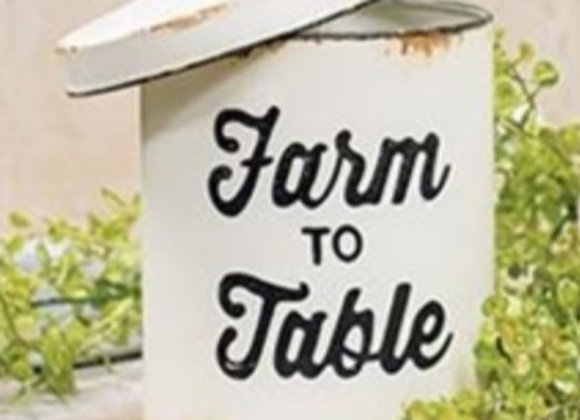 FARM TO TABLE SMALL CANISTER