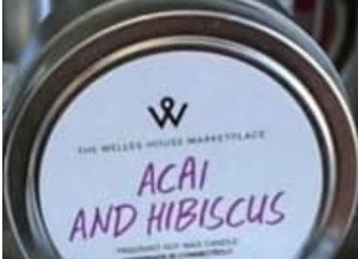 ACAI & HIBICUS CANDLE TIN