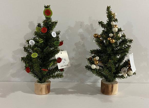 MINI TABLE TOP TREES - MANY STYLES
