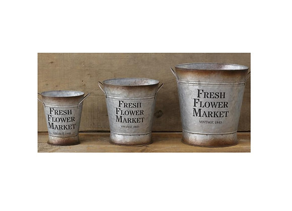 MEDIUM FRESH FLOWER MARKET PLANTER