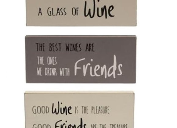 WINE BLOCKS
