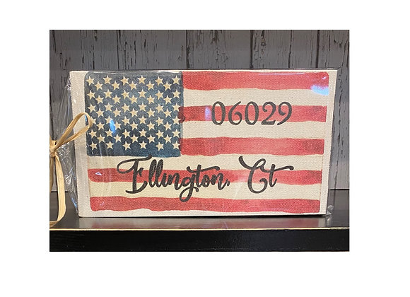 ELLINGTON FLAG SIGN