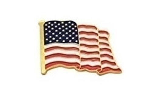 FLAG WAVE PIN