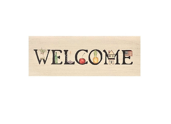 WELCOME SIGN GRAPHICS