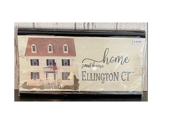 ELLINGTON WALL PLAQUE