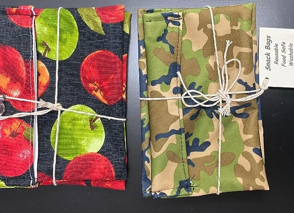 RESUABLE LUNCH BAGS