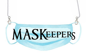 NEW HOLDERS FOR FACE MASKS - BUY NOW AT TULIPS GIFT SHOP IN ENFIELD CT ONLY!