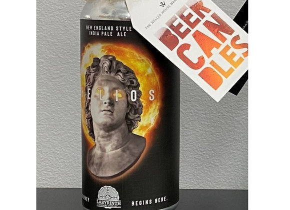 BEER CANDLE BUST