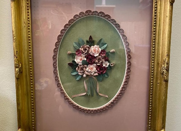 ROSES QUILL FRAME