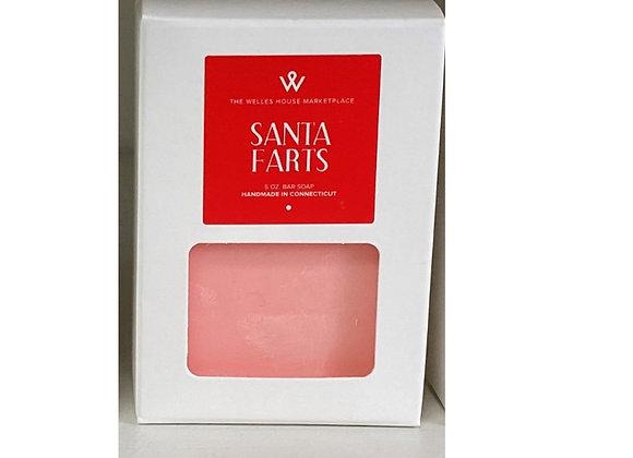 SANTA FARTS PINK SOAP
