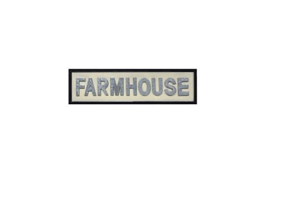 FRAMED FARMHOUSE SIGN
