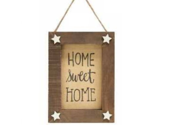 SMALL HOME SWEET HOME SIGN