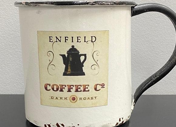ENFIELD OVERSIZED ENAMEL COFFEE CUP