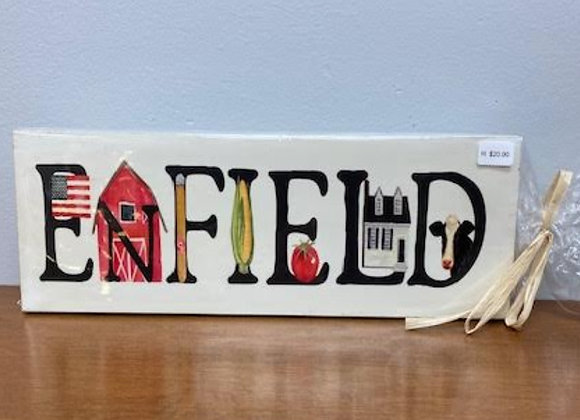 ENFIELD THEMED SIGN