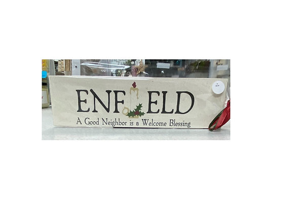 ENFIELD NEIGHBOR BLOCK SIGN