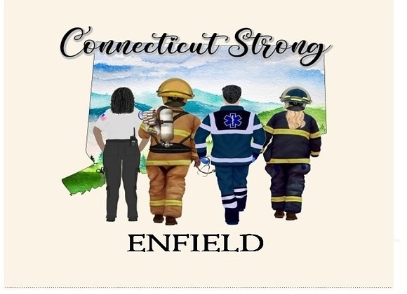 ENFIELD CT STRONG WALL ART