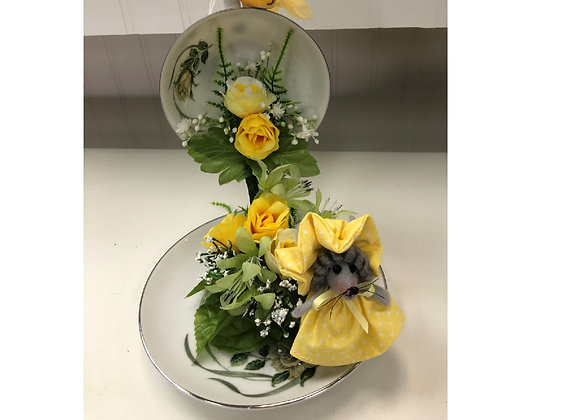 YELLOW MOUSE FLORAL