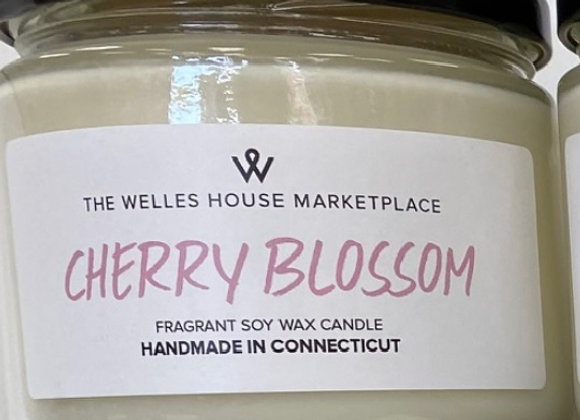 CHERRY BLOSSOM SCENT JAR CANDLE