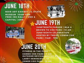 Join CORAL for the 2021 Juneteenth Parade!