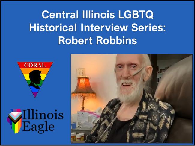 Robert Robbins Interview Photo