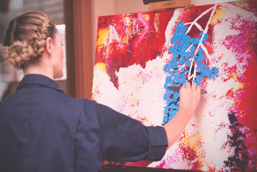 Painting at House of Oliver