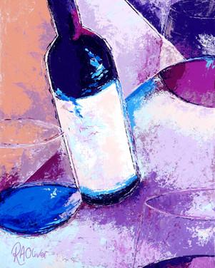 'Burgundy Blue'
