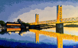 'Blue Hour Bridge'