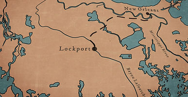 """An illustration of South Louisiana from Southern filmmaker Brent Joseph's documentary, """"Beirut on the Bayou."""""""