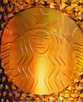 Win a Starbucks Gold HoneyComb 🍯 Cup!