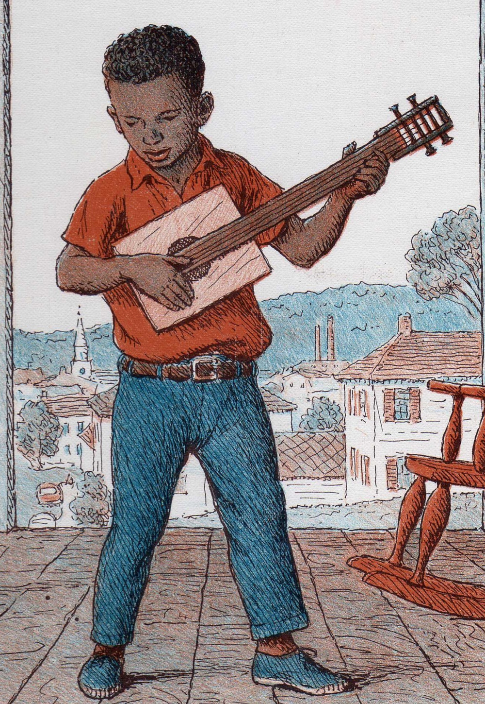 """Cover Art to the Book """"Jasper Makes Music"""" by Betty Horvath"""