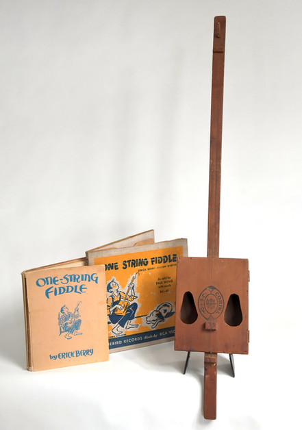 Vaudeville Fiddle Cigar Box Guitar