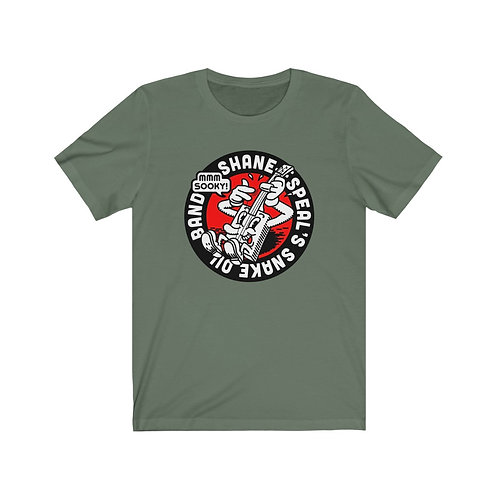 Shane Speal's Snake Oil Band - Sooky! Shirt - Battle green