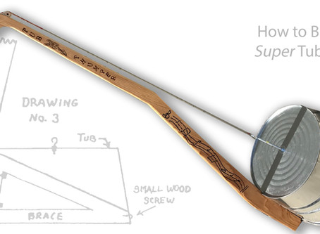 How to Build a Super Tub Bass (an improved upright gutbucket bass)