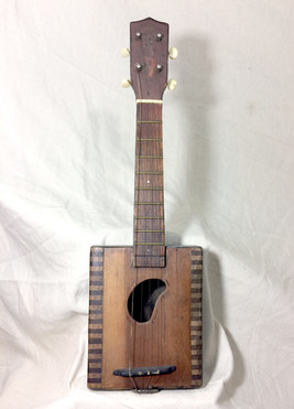 """Bean Hole"" Cigar Box Ukulele"