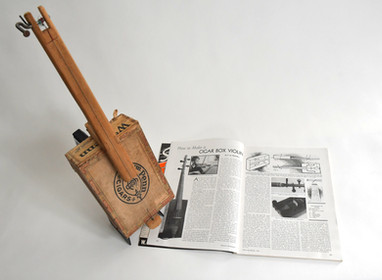 One String Cigar Box Fiddle