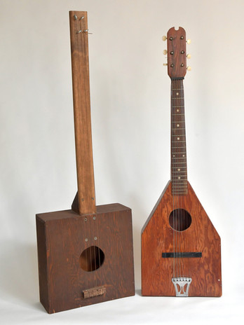 Folk Art Acoustic Guitars