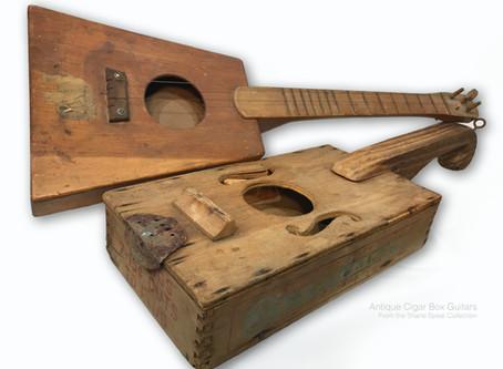 History of the Cigar Box Guitar