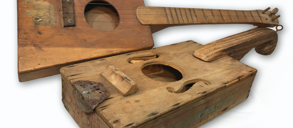 History of the Cigar Box Guitar
