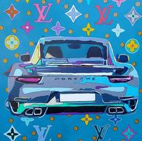 Custom LV Porsche