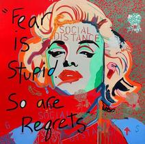 Social Distance Marilyn