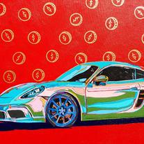 Custom Porsche Red