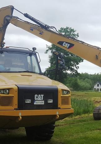 Cat 336 Cat730