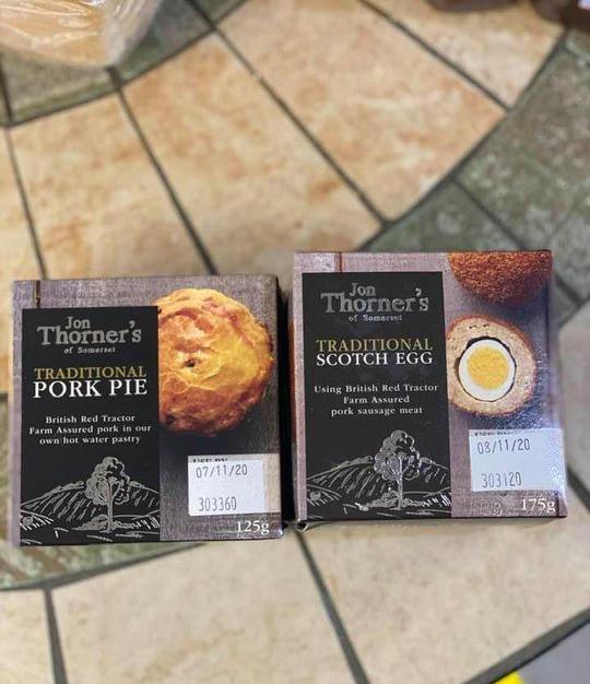 Pork Pie & Scotch Egg