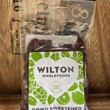 Wilton dried cranberries