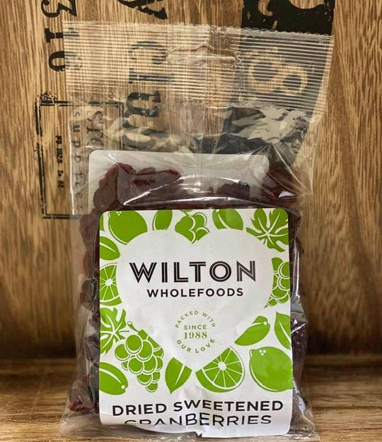Wilton dried cranberries