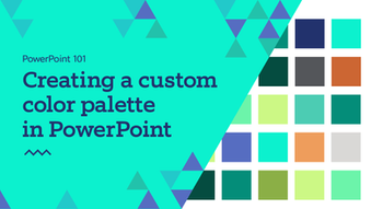PPT101: Creating a custom color palette in PowerPoint