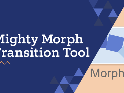 Mighty Morph Transition Tool