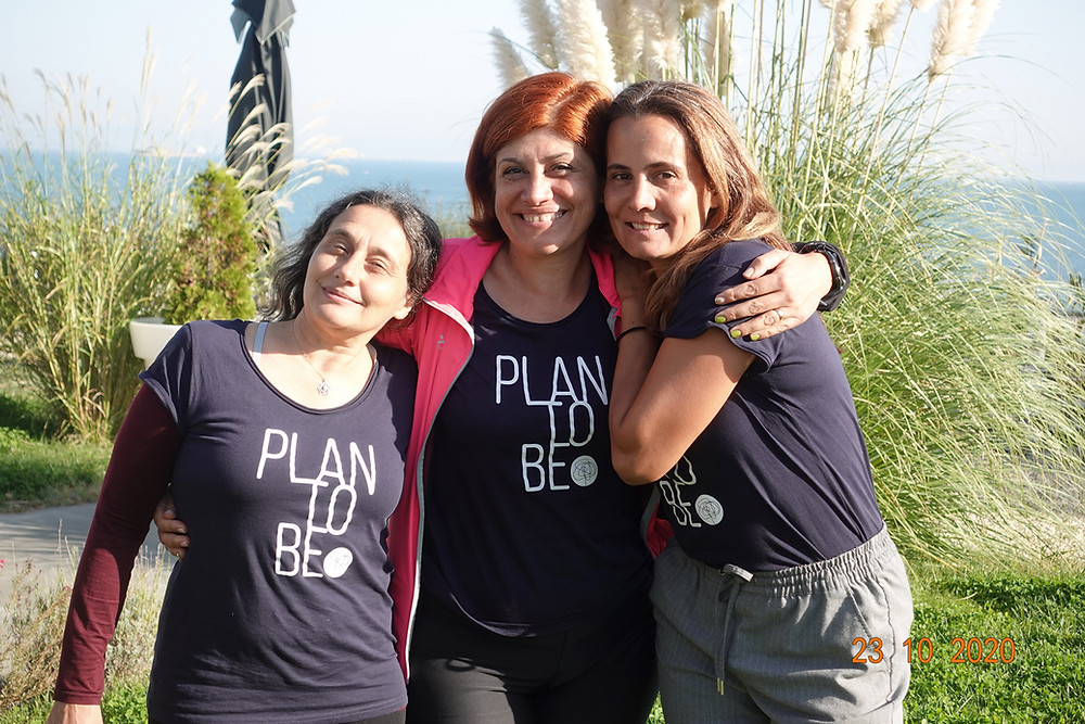 Evelina, Kalina Radicheva and Liliya Popgancheva at Plan to Be 20202