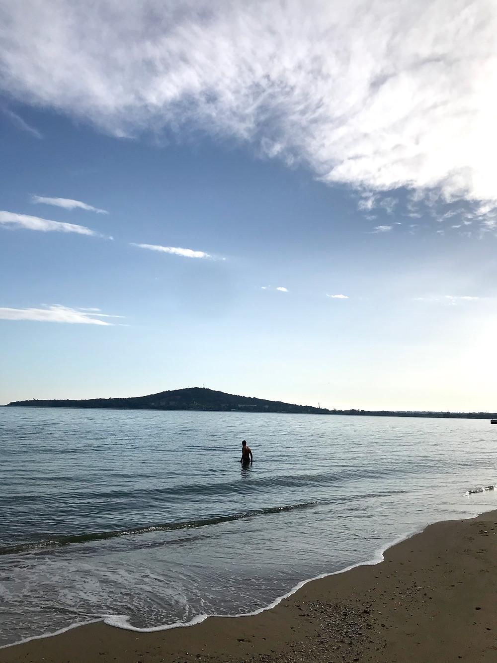 Black Sea Rosentetz beach Plan To Be retreat