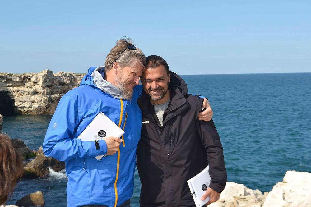 yumeiho terapist Simeon Subev and Ivaylo Timanov